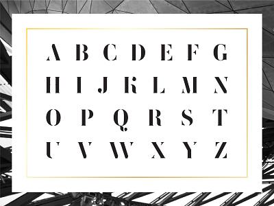 Femoralis alphabet abc typeface stencil lukertype luker font type illustrator logo lettering design lg typography