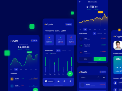 Cryptocurrency Wallet - Mobile app