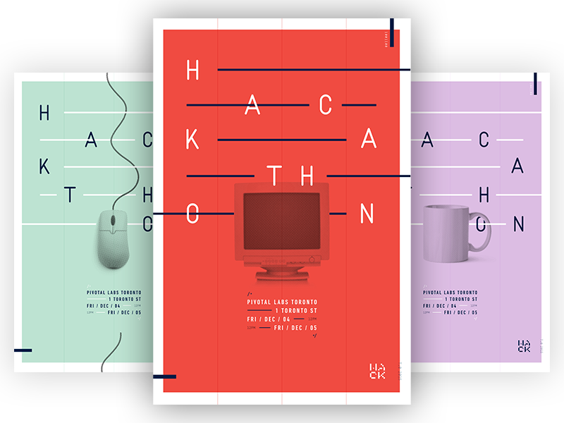 Hack posters