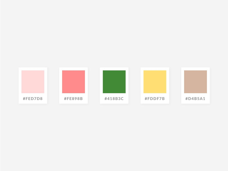 Whimsical Spring Garden Color Palette by Crystal Petersen on ...
