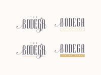 Bodega Logo Unused Designs 2