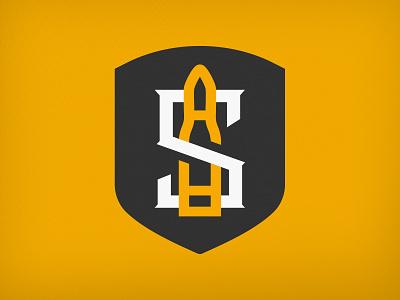 Siege Ammo Concept monogram mark badge logo mark logo emblem