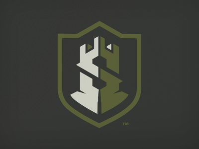 Siege Ammo crest monogram mark badge logo mark emblem logo