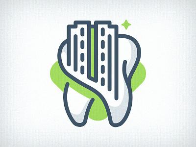 WIP logo mark branding emblem logo capitol tooth