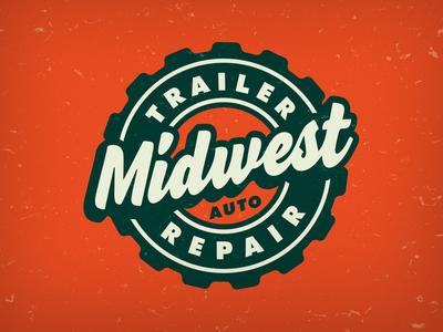Midwest Auto Badge emblem logo mark badge logo badge