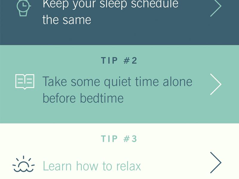 Sleep tracking - tips ux ui watch apple watch sleep tracking tracking tracker sleep