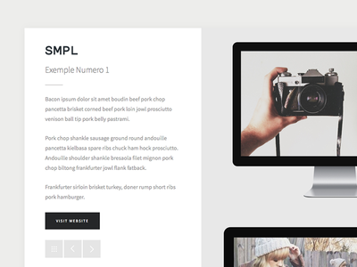 SMPL - Upcoming Template : Project