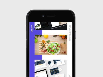 supview.be Mobile version front-end belgium agency personnal portfolio clean template html5 css3 angular minimal webdesign