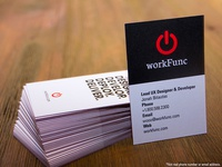 workFunc Business Cards