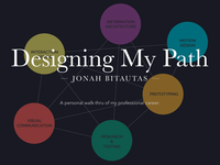 Designing My Path - Website Reboot