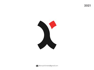 LOGO XK MODERN AND SIMPLE typography ux ui illustration vector logo icon graphic design design branding