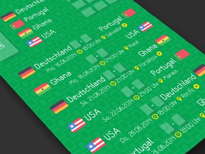 World Cup 2014 Brazil - Planner worldcup soccer football flat print brazil brasil planner cup