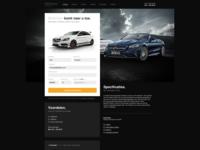 Mercedes Dealer marketing landingspage