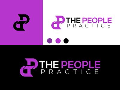 THE PEOPLE PRACTICE design inspiration ux vector ui typography illustration icon logo graphic design design branding
