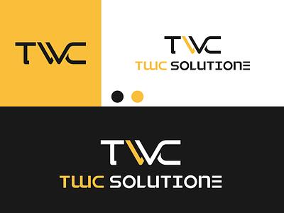 TWC SOLUTION Logo disign inspiration ux vector ui typography illustration icon logo graphic design design branding