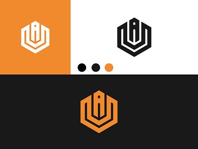AU Logo disign inspiration ux vector ui typography illustration icon logo graphic design design branding