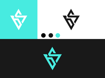 LETTER GS Logo disign inspiration ux vector ui typography illustration icon logo graphic design design branding