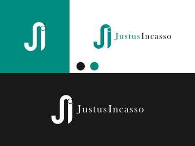 JI JUSTUS INCASSO Logo disign inspiration ux vector ui typography illustration icon logo graphic design design branding
