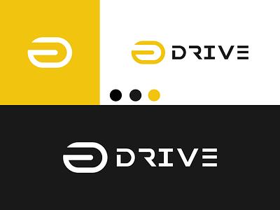 DRIVE Logo disign inspiration ux vector ui typography illustration icon logo graphic design design branding