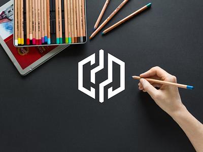LETTER CD Logo disign inspiration ux vector ui typography illustration icon logo graphic design design branding