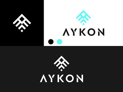 AYKON Logo disign inspiration ux vector ui typography illustration icon logo graphic design design branding