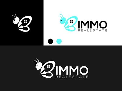 BIMMO BEE Logo disign inspiration ux vector ui typography illustration icon logo graphic design design branding