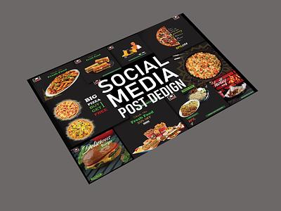 Resturant social media post designs facebook post design twitter oost design instragram post
