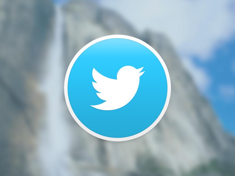 Twitter for Yosemite os x icons twitter yosemite