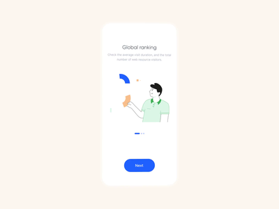 Onboarding Analytic App agilie onboarding screens clean analytics app illustration interface ux ui onboarding animation mobile analytic