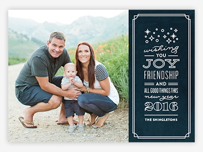 All Good Things Holiday Photo Card for Minted