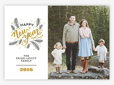 Berry Lovely Holiday Photo Card for Minted