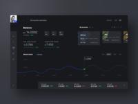 Cryptocurrency Marketplace (Dark)