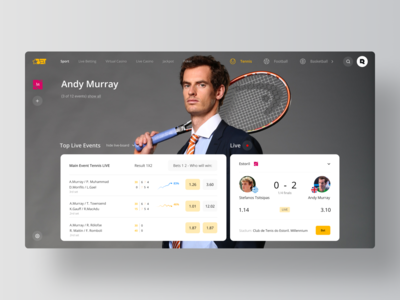 Sport Live - Betting Platform