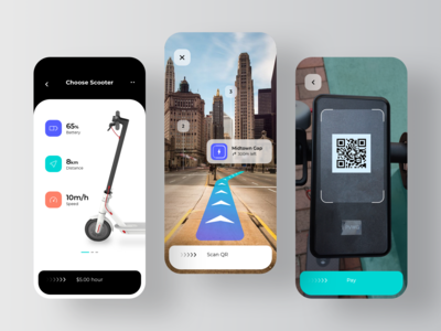 Rent Scooter Application