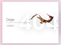 Daily UI - 404 Page (008)