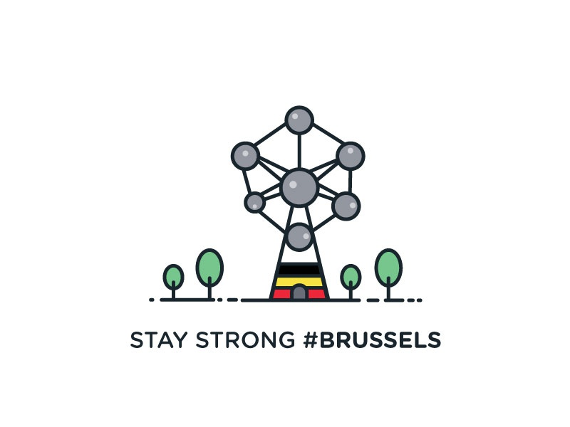Stay Strong Brussels By Deepika Sinha Dribbble