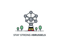 Stay Strong #Brussels