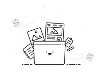Designer's Folder illustration