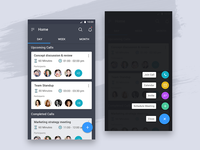 Conference calling app concept