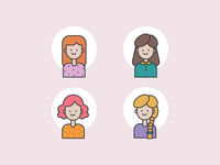 Profile Picture Icon for Women