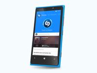 Shazam for Windows Phone