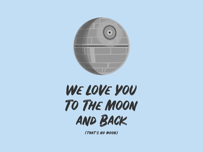To the Moon and Back (That's No Moon)