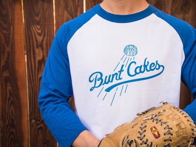 Bunt Cakes Logo typography hand lettering logo hand lettering handlettering handletter illustrator illustration logo sports branding sports logo sports