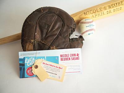 Baseball Wedding design wedding invitation wedding invite invitations wedding baseball