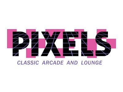 PIXELS logo branding graphic design