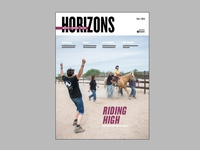Horizons - Cover Fall 2014