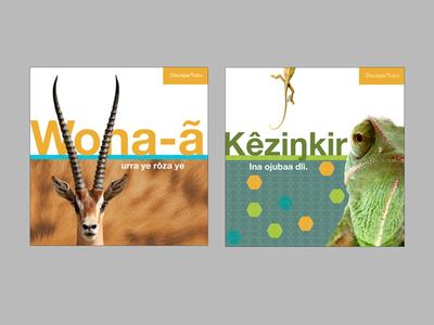 Children's Books - Daza Language