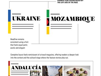 Horizons - Departments horizons magazine team magazine layout