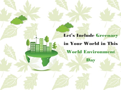 World Environment Day marketing post social media post post social media typography vector logo branding illustration icon graphic design design