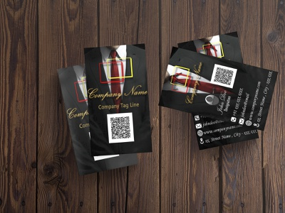 Visiting Card 1 visiting card vector typography logo illustration graphic design design branding